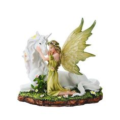 Meadow Fairy with Unicorn - Baby Feathers Gift Shop