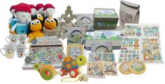 eco packaging - eco friendly wood toys