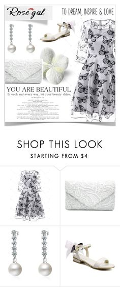 """""""Rosegal 49/III"""" by mery66 ❤ liked on Polyvore featuring rosegal"""