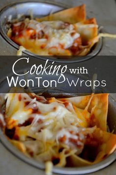 Cooking with Wonton Wrappers |