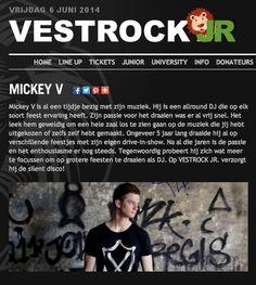 Shoot for Dj Mickey V Vestrock festival in Hulst! Silent stage
