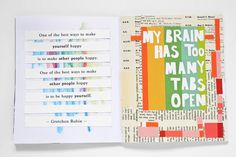 get messy - an art journal challenge 12 (via Bloglovin.com )