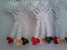 Ideas Crochet Lace Edging Leaves For 2019 Crochet Boarders, Crochet Edging Patterns, Crochet Lace Edging, Crochet Motifs, Baby Knitting Patterns, Crochet Designs, Crochet Flowers, Crochet Stitches, Crochet Curtain Pattern