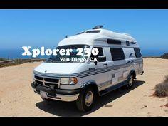 Complete tour of my Dodge Xplorer 230 XLWT Class B RV   Camping - Truck Topper   Pinterest ...