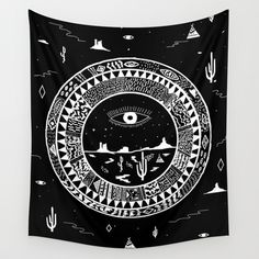 Interstellar Deserts Wall Tapestry