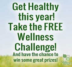 2013 Wellness Challenge Starts Now! - Want to improve health this year? Take this free challenge!
