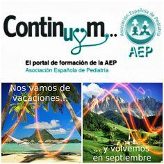 Pediatría Basada en Pruebas: Continuum se toma  vacaciones... pero no descansa