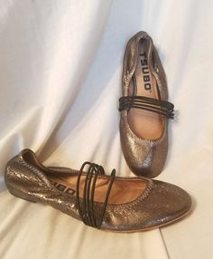 Tsubo womens shoes sz 7.5 M Honnor ballet flats black metallic leather mary jane | Clothing, Shoes & Accessories, Women's Shoes, Flats & Oxfords | eBay!