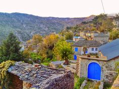 Village of Kallartyes, home to 15 people in Greece.