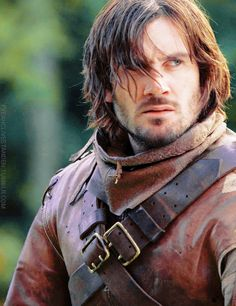 Clive Standen as Gawain in Starz network Camelot