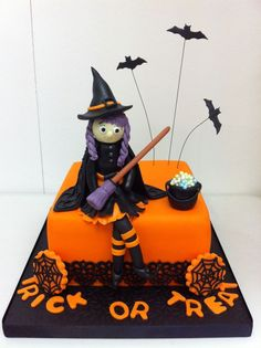 cute halloween cakes cute halloween witch cake - Cute Halloween Witches