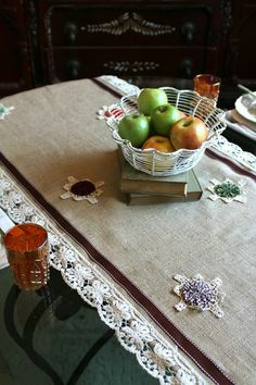 Doily for Table Setting Decoration