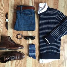 Outfit grid - Classic style