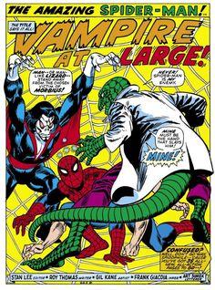 Splash page to Amazing Spider-Man #102