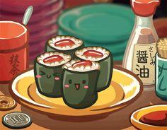 Comme Kyohi Hime nous a mis l'eau à la bouche dans son article Vélo, naufrage et party time,aujourd'hui on va parler culture culinaire et aborder le complexe et varié thème des sushis.…
