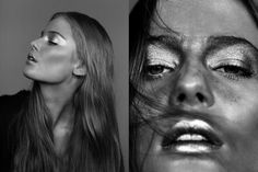 Faves from my personal site - #blackandwhitephotography #beauty #eyes #makeup -