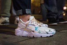Nike Air Huarache 'Louis Vuitton'