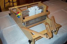 "loom - only 10"" weaving width but only $350 and it has 8 shafts"