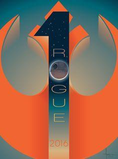 """xombiedirge: """" Star Wars: Rogue One by Orlando Arocena / Facebook """""""