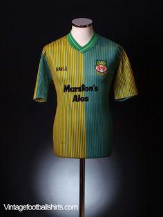 f7794885b 1989-90 Wrexham Away Shirt M Football Shirts