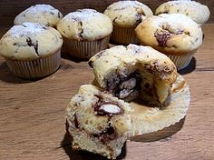 Children's chocolate muffins by pinktroublebee Muffin Recipes, Baby Food Recipes, Baking Recipes, Sweet Recipes, Nutella Muffins, Chocolate Muffins, Nutella Recipes, Recipe For 4, Nutritious Meals