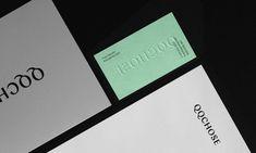QQCHOSE by Paprika, Canada. #branding #stationery