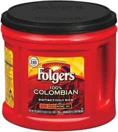 Folgers Coffee Ground 100% Colombian, 27.8-Ounce Packages (Pack of 2) ** You can get more details by clicking on the image. #GroundCoffee Coffee Type, Coffee Pods, Coffee Beans, Coffee Coffee, Coffee Drinks, Folgers Coffee, Coffee Canister, Coffee Coupons, Nitro Coffee