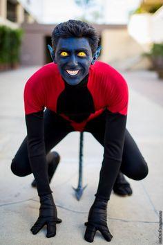 Character: Nightcrawler (Kurt Wagner) / From: MARVEL Comics 'The Uncanny X-Men' / Cosplayer: The Roaming Roman / Photo: Estrada Photography / Event: Long Beach Comic Con 2014 Cosplay Comic Con, Cosplay Marvel, Superhero Cosplay, Epic Cosplay, Male Cosplay, Amazing Cosplay, Cosplay Ideas, Funny Cosplay, Costume Manga