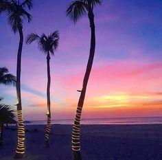 Sunset views from Bucuti & Tara Beach Resort Aruba!