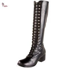 FUNTASMA RET302/B/PU Bottes Femmes Noir - Chaussures funtasma (*Partner-Link)
