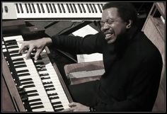 Chester Thompson is one of the greats with rhythm on the Hammond organ - an instrument which has a 'percussion' stop (selector) and Chester knows how to use it!