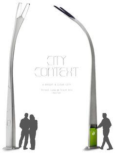 City Context – Solar Streetlights with Integrated Dustbin by Li-Te Lo, Song-Jung Chen, Tai-Yen Lee, Chun-Wei Hsu & Cheng-Yu Tsai