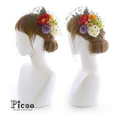 Gallery 342 . Order Made Works Original Hair Accessory for SOTSUGYO-SHIKI . ⭐️卒業式髪飾り⭐️ . レトロでモダンな雰囲気の袴に合わせて、椿とドットチュールのハイカラスタイルで可愛くアレンジ 明るめカラーの大小マムと小花をバランスよく飾り付けて、おしゃれで魅力的な仕上がりに . . . #Picco #オーダーメイド #髪飾り . #レトロ #モダン #和 #個性的 #卒業式ヘア . デザイナー @mkmk1109 . . . #成人式ヘア #成人式髪型 #振袖 #前撮り #卒業式 #ヘアスタイル #袴ヘア #結婚式ヘア #和装ヘア #キモノ #プレ花嫁 #花嫁 #挙式 #披露宴 #ドレス #retro #marry #cooljapan #hairdo #kimono #cute