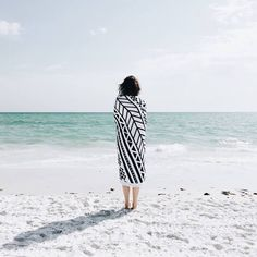 Our Aztec Roundie was made for days by the sea. Shop now at thebeachpeople.com.au/shop/aztec/ #thebeachpeople