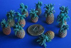 Talleres y trucos para miniaturas: piñas tropicales