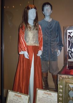 Actual costumes and props used in  The Chronicles of Narnia: Prince Caspian