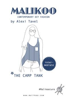 Camp Tank Knitting Pattern – Malikoo