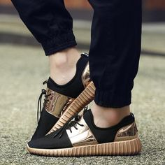 WhoFox Gold Sneakers (3 colors)