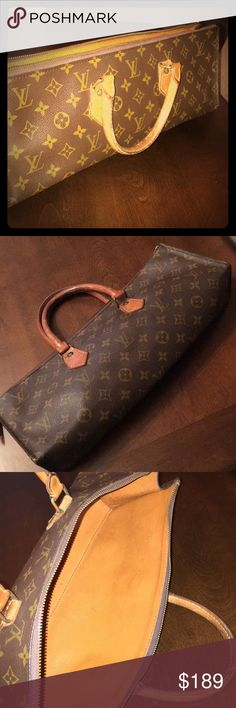8ca12de4eda2 Shop Women s Louis Vuitton Brown size OS Bags at a discounted price at  Poshmark.