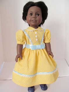 American Girl Doll Clothes Historical Dress Civil by fashioned4you
