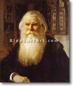Portrait of Ivan Zabelin - £124.99 : Canvas Art, Oil Painting Reproduction, Art Commission, Pop Art, Canvas Painting