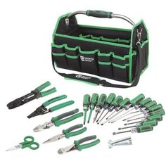 Commercial Electric 22-Piece Electrician's Tool Set-CE120501 at The Home Depot