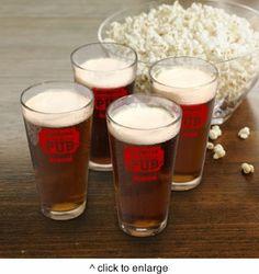 Pub Glass Set - Personalized