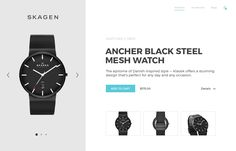 Skagen product page full pixels