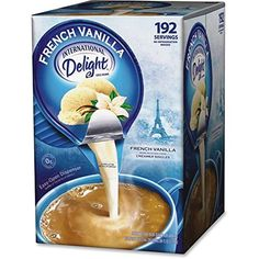 International Delight French Vanilla, 192 Count Single-Serve Coffee Creamers: International Delight Non Dairy Coffee Creamer Non Dairy Coffee Creamer, French Vanilla Creamer, Baby Food Recipes, Gourmet Recipes, Single Serve Coffee, Hot Chocolate Recipes, Single Serving Hot Chocolate Recipe, Costco