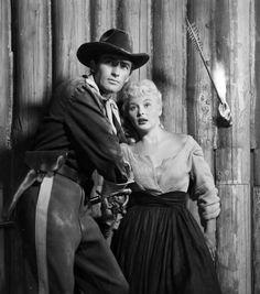 Gregory Peck & Barbara Payton