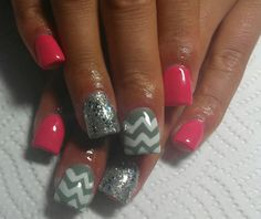 Acrylic nails by Mirna