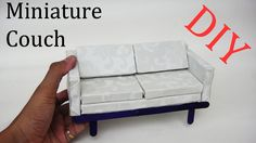How to Make Miniature realistic Couch