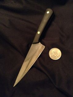 knifemaker's fav'lil kitchen knife?? #knife #chef #food