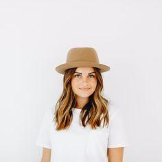 Ruth - Short Brim Felt Hat